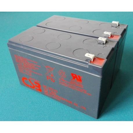 Zestaw 2x akumulator CSB 7Ah 12V
